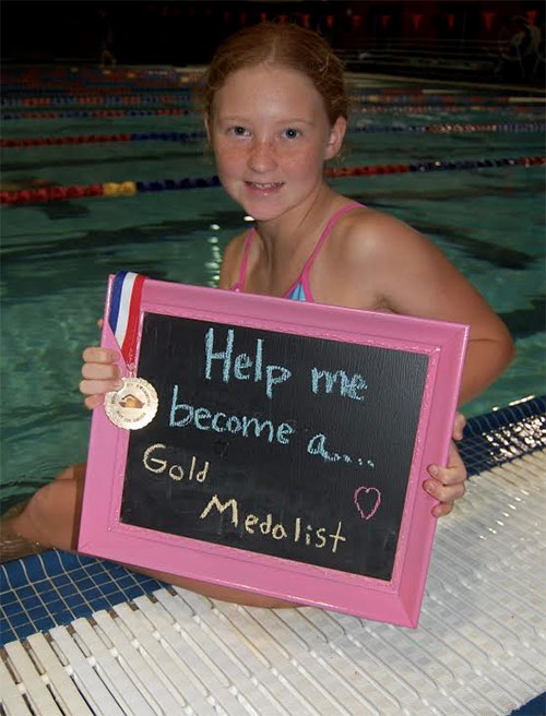 Help Me Become a Gold Medalist