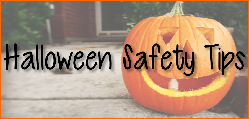 Halloween Safety Tips Banner